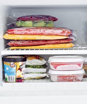 Alimentos que dicen NO al congelador
