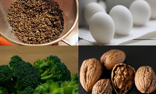 Alimentos que hacen que tu cabello brille más