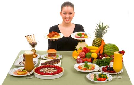 Cómo comer en el desayuno, almuerzo y cena