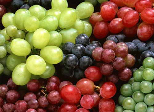 Conoce las bondades de la uva: información nutricional