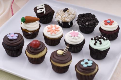 Cupcakes llamativos