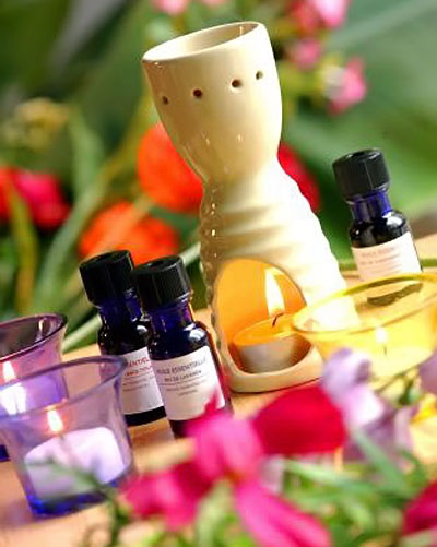 La aromaterapia es una terapia mágica