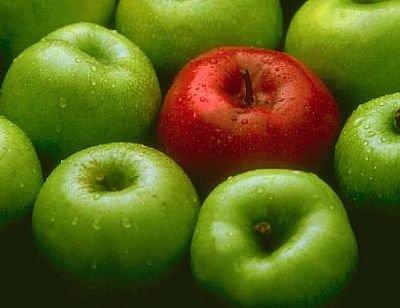 Las manzanas ayudan a perder peso