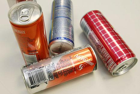 Realidad de las bebidas energizantes